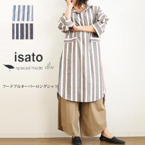 isato design works ストライプワンピース