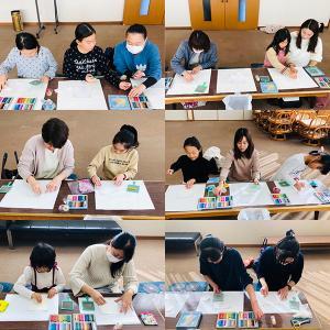 吉江中友の会様でパステルアート体験教室を開催させていただきました♪