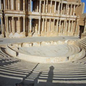 サハラのオアシス・ガダメスとリビア探訪142 サブラダ遺蹟21