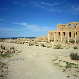 サハラのオアシス・ガダメスとリビア探訪143 サブラダ遺蹟22