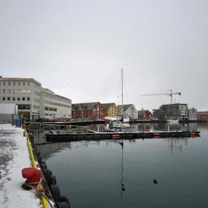 北欧オーロラ紀行9 トロムソの港