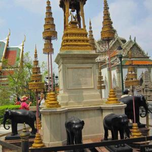 2015年3月タイ35  王宮とワット・プラケオ(エメラルド寺院)3