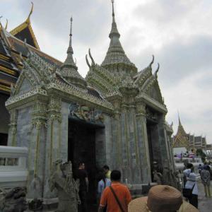 2015年3月タイ42  王宮とワット・プラケオ(エメラルド寺院)10
