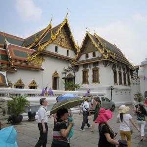 2015年3月タイ43  王宮とワット・プラケオ(エメラルド寺院)11