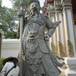 2015年3月タイ45 ワット・ポー(涅槃仏寺院)1