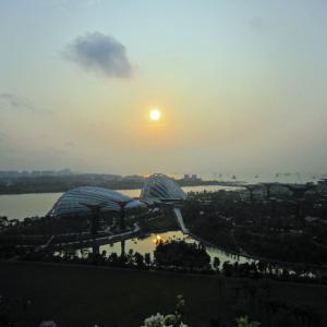 シンガポール・マレーシア18 マリーナ ベイ サンズ シンガポール2