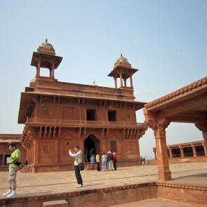 インド世界遺産紀行117 ファテープル・シークリー 7