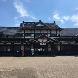 旧大社駅と古代出雲歴史博物館(出雲大社)6