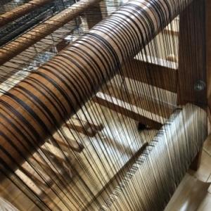絹×カシミヤのストール