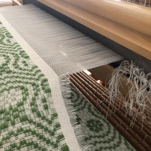 ダーラドレルの織り上がりとムンカベルテの織り始め♪