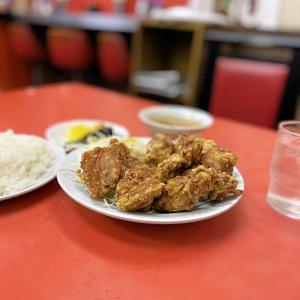 【から揚げてんこ盛りの嬉しい定食】 点勝園@和田岬