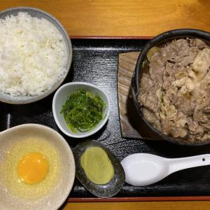 【鍋一面がお肉まみれの定食】水源@阪神御影