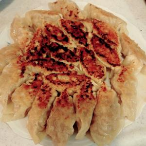 手作り餃子と初挑戦ローストビーフ