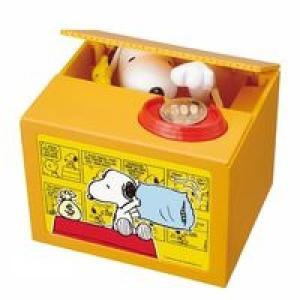 スヌーピーがコインを預かり!スヌーピーの貯金箱「スヌーピーバンク」が11月下旬発売!