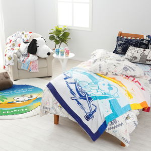 ショップチャンネルで!7月28日21時より、スヌーピー夏物寝具特集が放送!