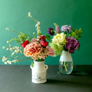 スヌーピーと一緒にお花のある暮らし「kumpu DAY & FLOWERS」にスヌーピー花器セットプランがスタート!