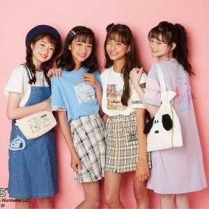 ナルミヤジュニアブランドとのスヌーピースペシャルコラボアイテムが7月24日から発売!