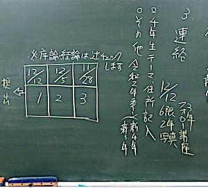 第10回 ゼミ・卒研