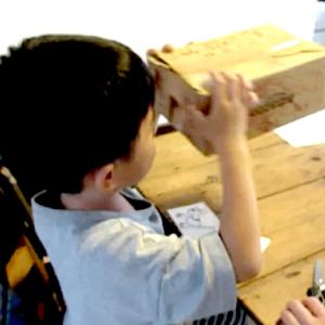 「大恐竜カメラ」遊び 5歳10ヶ月
