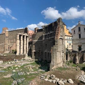 ローマでランチ♪アルデンテのパスタ