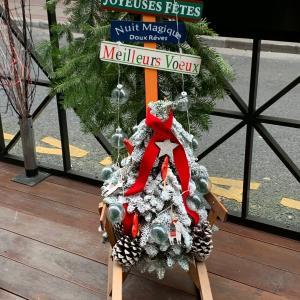 クリスマスの季節到来♪フランスのストとLimeとネイルチェンジ