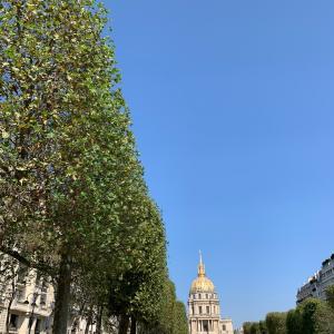 パリのウオーキング♪アンヴァリッドからパリ7区のお散歩
