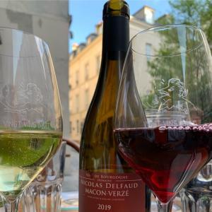 ワインでお食事会♪Vingt Vins d'Art パリ