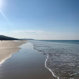 2021年夏の終わりのブルターニュの海