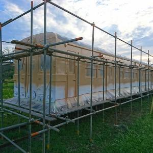 キハ30-62 塗装工事完成 クラウドファンディング