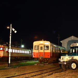 いすみ鉄道夜行列車のスナップ