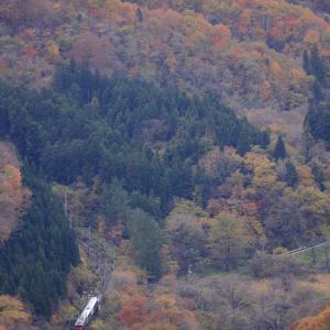 ED75-757牽引の快速「風っこ仙山線紅葉号」を撮る!(鎌倉山俯瞰編その2)