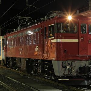 ED75牽引の左沢線用キハ101形配給を撮る!(作並駅編)
