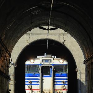 白Hゴムのキハ47(馬下のトンネル抜き編)
