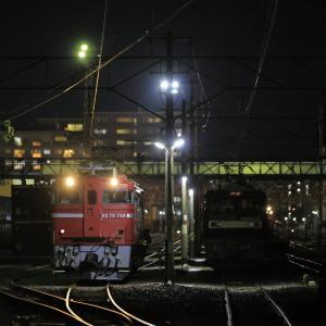 仙台貨物ターミナルのED75