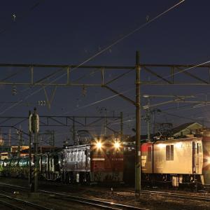 仙台貨物ターミナル駅に停車する、ED75牽引の岩切ロンチキを撮る!(その2)
