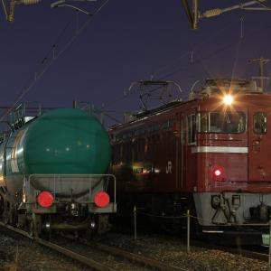 仙台貨物ターミナル駅に停車する、ED75牽引の岩切ロンチキを撮る!(その4)
