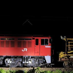 奥羽本線のロングレール取卸し作業(その2)