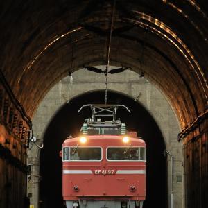 ローズピンクのEF81-97を撮る!(馬下のトンネル抜き編)