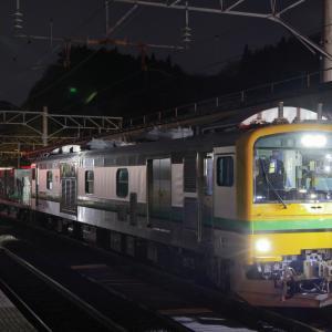 作並駅に停車する、GV-E197系を撮る!(仙山線性能試験編)