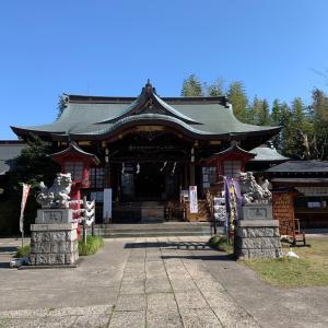 鷺ノ宮八幡神社に行ってきました