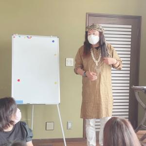 一宮寿山先生の新シャーマニックハイパー講座始まりましたよー