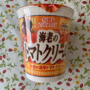 CUP NOODLE 海老のトマトクリーム