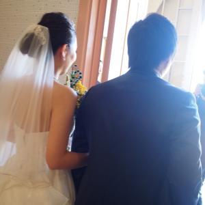 結婚式に参列しました☆