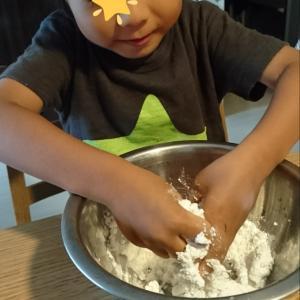 白玉団子作り