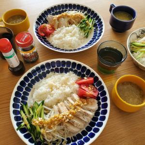 海南鶏飯のランチ