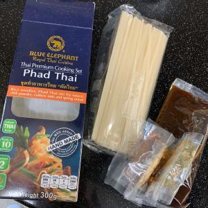 タイ料理が恋しくてお家パッタイ