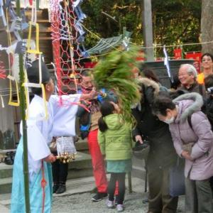 今日は八雲神社の初神楽