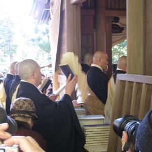 今日は常楽寺で文殊祭