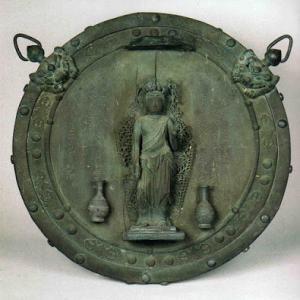 長谷寺の十一面観音懸仏