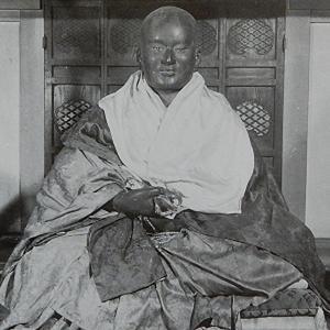 鎖大師~鎌倉:青蓮寺の弘法大師像~